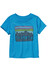 Patagonia Fitz Roy Skies Cotton - T-shirt - bleu